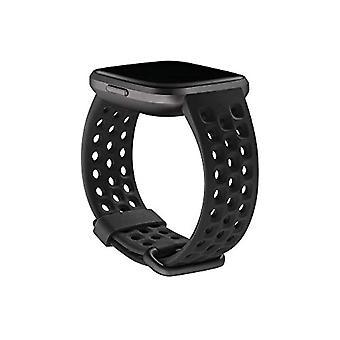 Interchangeable Strap Sport Fitbit Versa 2, Black, Small