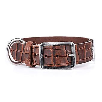 My Family Adjustable Collar in Real Leather Made in Italy Tucson Collection(7)