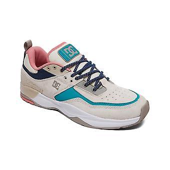 DC E. Tribeka SE sneakers in wit/blauw/groen
