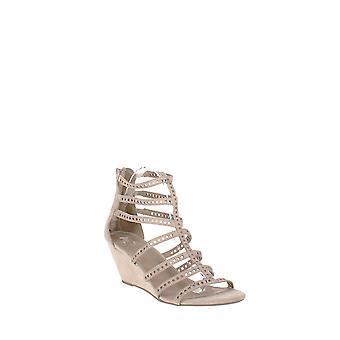 Material Girl | Harriette Wedge Sandals