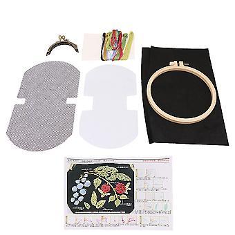Retro Style Handmade Haft Mini Bag Making DIY Zestawy 8,5 cm