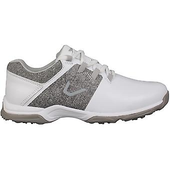 Slazenger Womens Ladies Spikeless Golf Shoes Lace Up Sports Trainers Traction