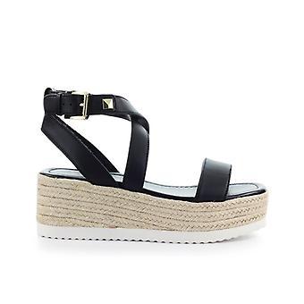 Michael Kors Lowry Black Platform Sandal