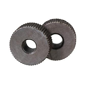 Pour 2pcs 1mm Simple droite droite droite linéaire Molette de moletage pour le travail des métaux WS899