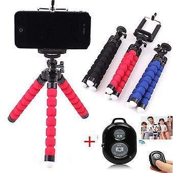 Flexible Sponge Octopus Phone Tripod Stand Mount Selfie Stick Or Bluetooth