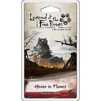 Legenda pięciu pierścieni LCG: Honor in Flames Dynasty Pack