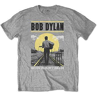 Bob Dylan - Slow Train Unisex X-Small T-paita - Harmaa