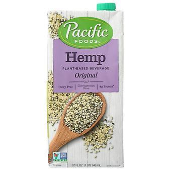 Pacific Foods Hemp Milk Original, Case of 12 X 32 Oz