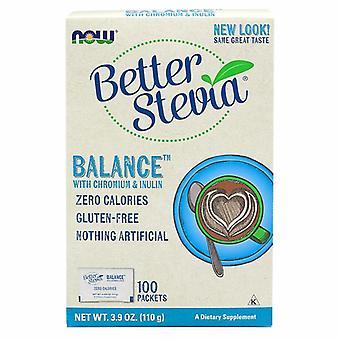Nyt Foods BetterStevia Balance, Chromium & Inulin 100 Pkts