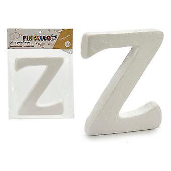 Poliestireno de la letra Z