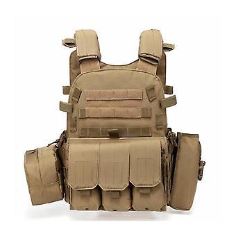 Multi-functional Tactical Vest Vest Multi-functional Lightweight Red Sea Action Vest Power Strip Field Equipment