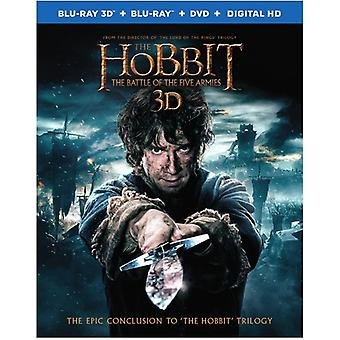 Hobbit 3: The Battle of the Five Armies [BLU-RAY] USA import