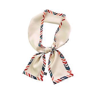 Bunte Cartoon abnehmbare Bluse dünne Haarband Seide Schal
