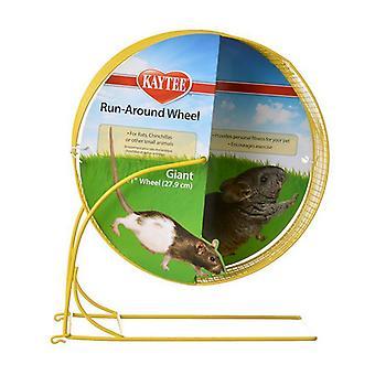 "Kaytee Metal Run Around Wheel - Giant Wheel (11"" Diameter)"