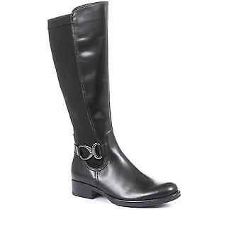 Gabor Womens Leather Knee High Boots