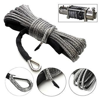 Light Weight Winch Rope High Strength With Sheath