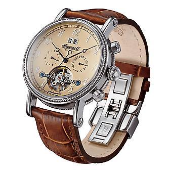 Ingersoll Brown Genuine Leather IN1800CR Men's Watch
