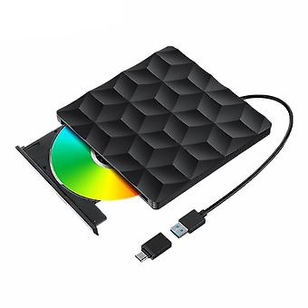 Bw-vd1 Usb3.0 Type-c External Burner Dvd Player Optical Drive