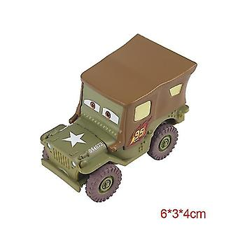 Disney pixar cars 2 3 lightning mcqueen toys(Sarge)