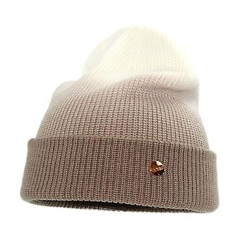 Kaltevuus rakenne standard neulottu hattu kupoli ins lämmin villahattu