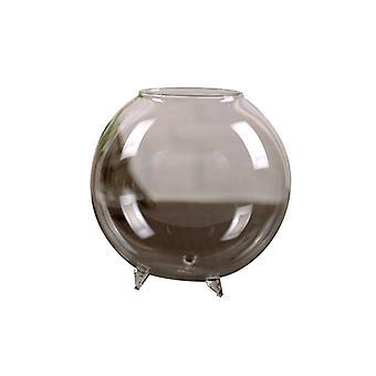 Hydroponisk Plante Vase Desktop Fiskebeholder Glass Enkel Vase GlassBeholder Terrarium Klar Ball Form