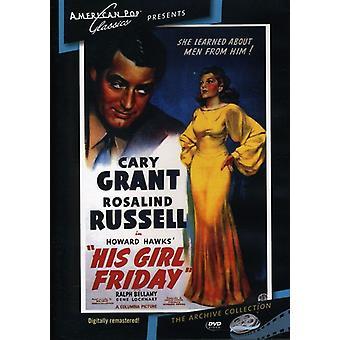 Importer des USA [DVD] sa Girl Friday (1940)