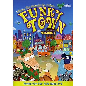 Funky Town - Where the Animals Go Urban: Funky Town, Vol. 1 [DVD] USA import