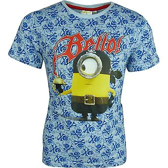 Boys Despicable Me Minions short sleeve T-shirt