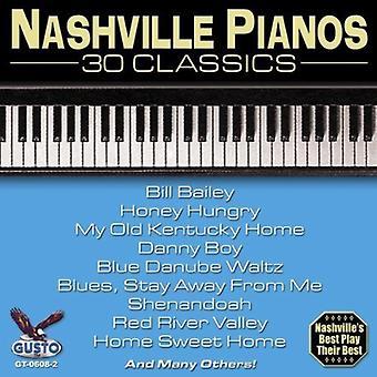 Nashville Pianos - 30 Classics [CD] USA import