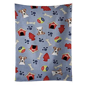 Dog House Collection Jack Russell Terrier kökshandduk