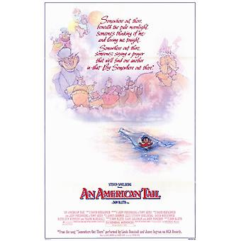 An American Tail Movie Poster (11 x 17)