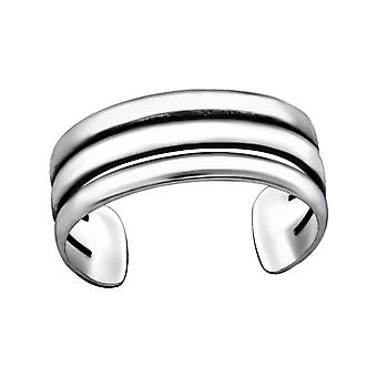 Line - 925 Sterling Silver Toe Rings - W29419x