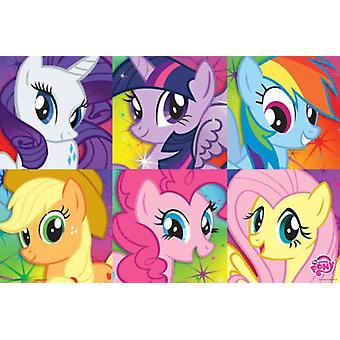My Little Pony - Zoom-Poster-Plakat-Druck