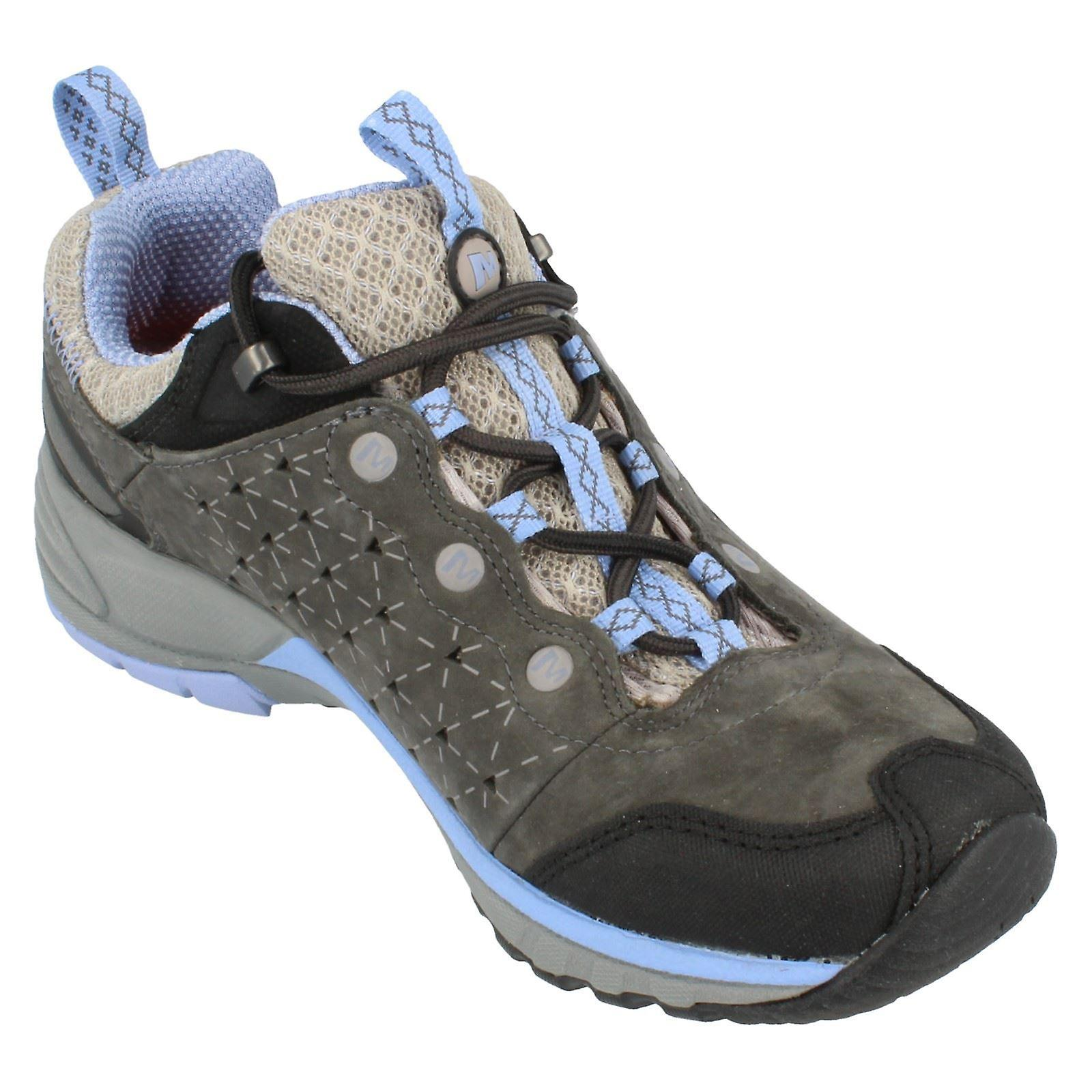 Dames Merrell Lace Up Trainer J16700/aviaire licht PDgzUe