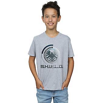Marvel Boys Avengers SHIELD Logo T-Shirt