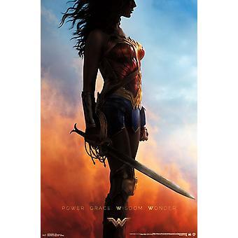 Wonder Woman - Teaser Poster Print