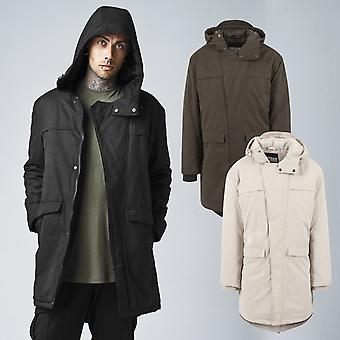 Urban classics - COTTON CANVAS PARKA winter jacket