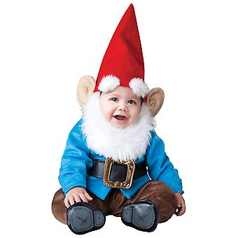 Lil' Garden Gnome Dwarf Elf Smurf Deluxe Baby Boys Infant Costume