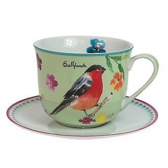 Engelsk servise co hage fugler frokost Cup