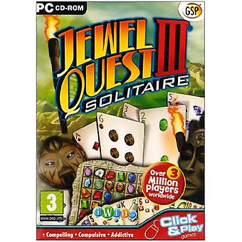 Jewel Quest Solitaire 3 (PC CD)-ny