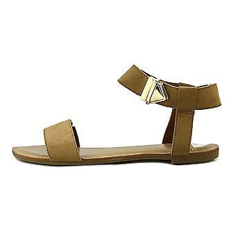 Bar III Womens Victor tissu ouvrir orteil occasionnels Ankle Strap Sandals