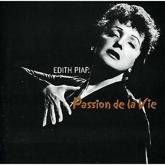 エディット ・ ピアフ - 情熱 De La Vie [CD] USA 輸入