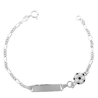 Orphelia sølv 925 børn armbånd fodbold ZA-7155