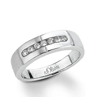 s. Oliver ladies di gioiello anello argento zirconi SO626