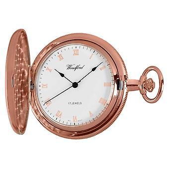 Woodford Full Hunter Rose Gold Pocket 1091 Watch