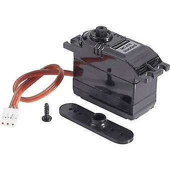 Modelcraft Standard servo BMS - 410C analog servo utstyr for materielle plast kontaktsystem JR
