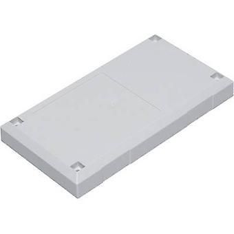 TRU COMPONENTS ESU 1200 Connector housing 125 x 67 x 50 Polycarbonate (PC), Acrylonitrile butadiene styrene Light grey 1 pc(s)