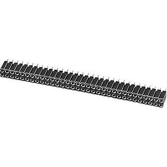 W & P producten 153-032-2-50-00 precisie Socket Connector aantal pins: 2 x 16 nominale stroom (details): 3 A