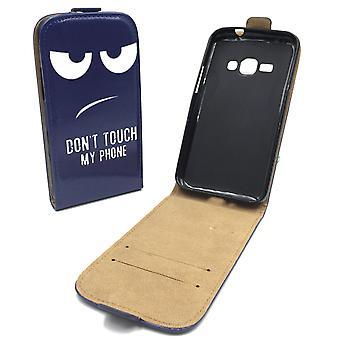 Mobile phone case pochette pour mobile Samsung Galaxy J1 2016 ne touche pas mon téléphone
