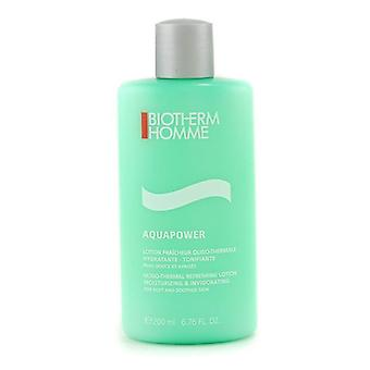 Biotherm Homme Aquapower Oligo-thermal Refreshing Lotion - 200ml/6.76oz